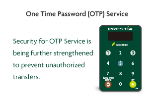 One Time Password (OTP) Service